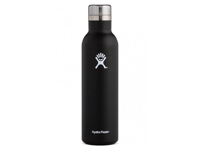 Hydro Flask Botella de Vino 749ml, negro